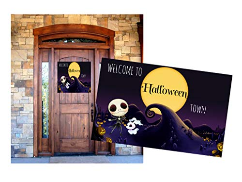 Silly Goose Gifts Nightmare Before Christmas Birthday Party Baby Shower Invite Decor Supply Stickers Favor (Welcome Decor)]()