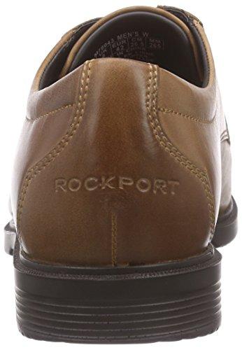 RockportCS ALGONQUIN - Derby Hombre Marrón - Braun (DARK TAN)