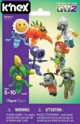 Choose Your Character Blind Bag Figure Series 3 Zombies K/'NEX Plants Vs