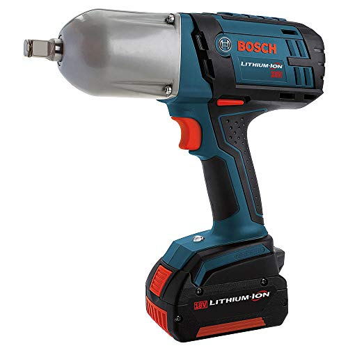Bosch 18-Volt High Torque Impact Wrench Kit with Friction Ring IWHT180-01