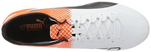 Fg 04 Chaussures Sl Football Blanc Evospeed Ii Orange puma Puma orange Black shocking Compétition De White Homme Blanc s UXfw4