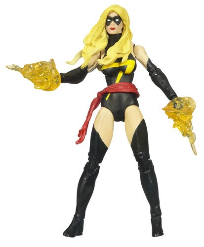 Marvel Universe 3 3//4 Inch Series 3 Action Figure #22 Ms Marvel Black Outfit