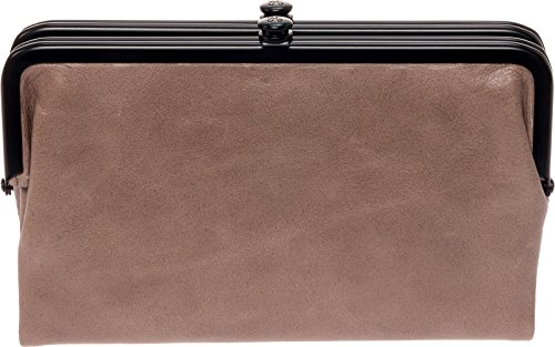 Around Hobo - Hobo Womens Glory Vintage Leather Clutch Wallet (Ash)
