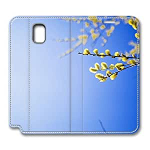 Brain114 Fashion Style Case Design Flip Folio PU Leather Cover Standup Cover Case with Beauty Of Nature 5 Pattern Skin for Samsung Galaxy Note 3