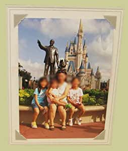 BROADWAY EASEL GRAY 8.5x11 Paper Picture Frames