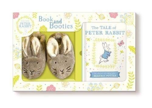 - Tale of Peter Rabbit Book and First Booties Gift Set