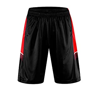 Findci Mens Compression Smooth Basketball Shorts Quick Dry Workout Short Trousers Tight Pants