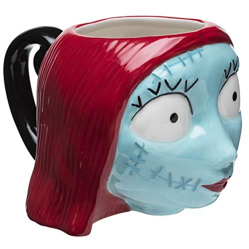 Sculpted 3D Coffee Mug - Choose Jack or Sally