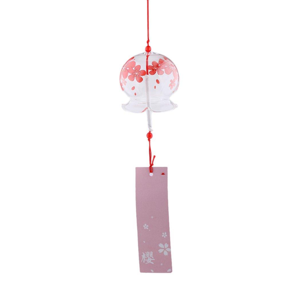 1 Baoblaze Viento De Cristal Con papel colgante bien impreso Regalo ideal para cumplea/ños vacaciones