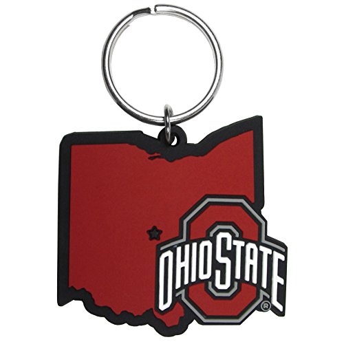Siskiyou NCAA Ohio State Buckeyes Home State Flexi Key Chain