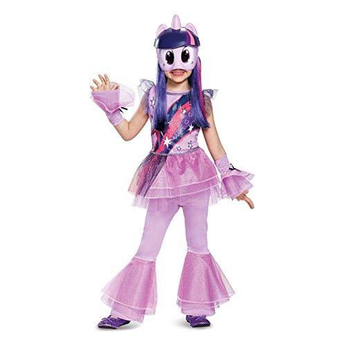 Twilight Sparkle Movie Deluxe Costume, Purple, Small (4-6X)