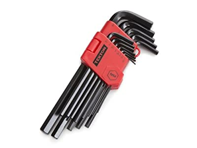 TEKTON 25232 13-pc. Long Arm Hex Key Wrench Set, Inch