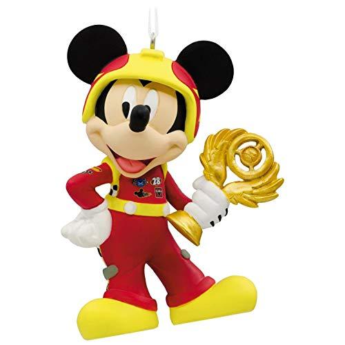 (Hallmark Disney Mickey Mouse Mickey's Roadster Racers Ornament)