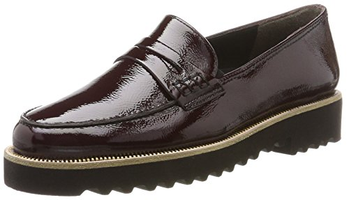 outlet extremely Paul Green Women's 1011041 Loafers Red (Bordeaux) supply 0bCvNE