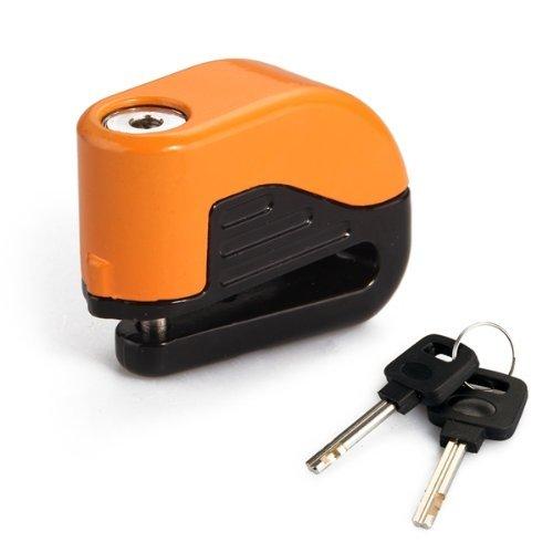 SODIAL(R) Frenos Lock Candado Alarma Alarma de bloqueo de disco para Motocicletas 020296