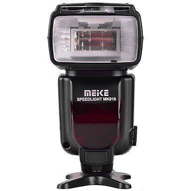 Meike MK910 i-TTL HSS 1/8000s HSS LCD Display Speedlite Master/Slave Flash for Nikon D3S D50 D60 D80 D200 D300 D500 D700 D750 D3000 D3100 D3300 D3400 D3500 D5000 and All Other Nikon DSLR Cameras by MEKE