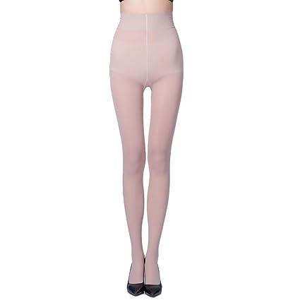 8614931b904 Amazon.com  Women Super Elastic Magical Stockings Tights Shaping Pantyhose  Stockings (Beige)  Arts