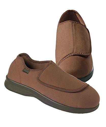 Mens Versatile Medi Scarpa / Pantofola Marrone