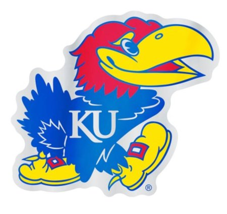 WinCraft NCAA University of Kansas Jayhawks 4.85