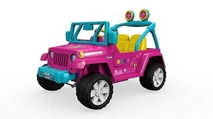 amazon com power wheels barbie jeep wrangler toys \u0026 gamesimage unavailable image not available for color power wheels barbie jeep wrangler