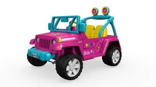Power Wheels Barbie Jeep Wrangler ()