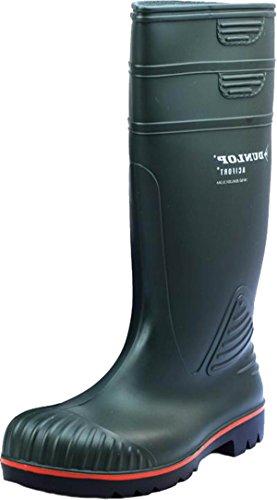 New Dunlop Herren A442631Actifort Heavy Duty Sicherheit Wellington schlupfslip Welly Stiefel