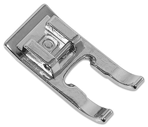 (DREAMSTITCH Snap On Open Toe Foot Appliqué Presser Foot for Brother,Singer,Babylock,Elna,Kenmore #40080962,718-7313W)