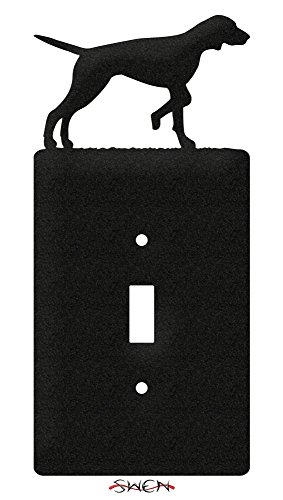 SWEN Products ENGLISH POINTER Metal Wall Plate Cover