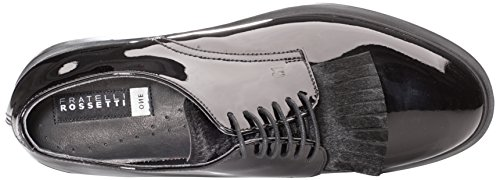Black 01 Women's Derby Nero 75354 Fratelli Rossetti Shoes XqfxFfRw