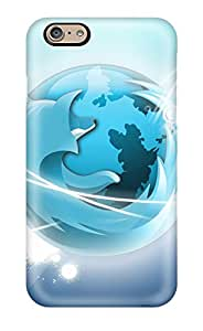 Nick Watson's Shop 4219539K33253850 premium Phone Case For Iphone 6/ Firefox Vector Tpu Case Cover