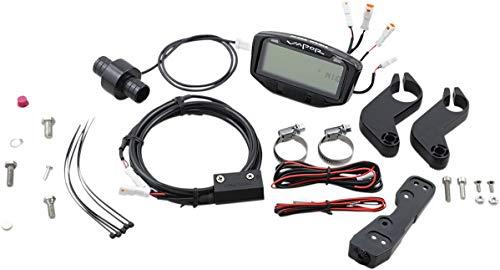 Trail Tech 752-119 Black Vapor Digital Speedometer Tachometer Gauge Kit, 1995-2019 KTM Honda Yamaha Kawasaki Suzuki