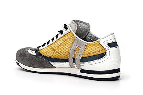 596 Multigiallo Vitello Krf112 Tessuto Cafènoir Sneakers E qfPTg