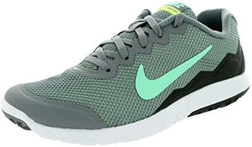 Nike Men s Flex Experience RN Cl Gry Grn Glw Anthrct Ghst Gr Running Shoe, 8.5 B M US