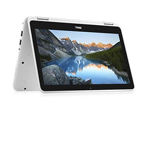 2018 Dell Inspiron 2-in-1 11.6-Inch Touchscreen High Performance Laptop PC, AMD A6-9220e Dual-Core Processor 4GB DDR4 RAM 32GB SSD Bluetooth WiFi Webcam MaxxAudio Windows 10-White (Dell Inspiron Duo Tablet Pc)