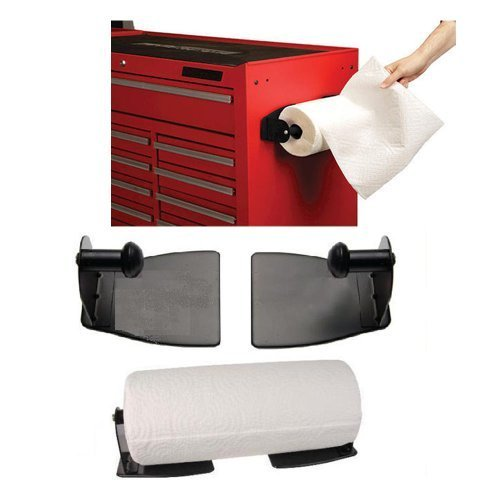 Magnetic Paper Towel Holder Steel Kitchen Workshop Houseware Refrigerator Mount (Refrigerator Magnetic Holder compare prices)