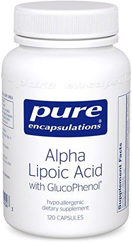 Pure Encapsulations GlucoPhenol Hypoallergenic Lipid Soluble