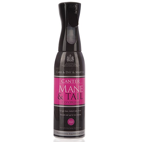 Canter Mane & Tall Equimist Conditioner (Black, 600 - La Canter