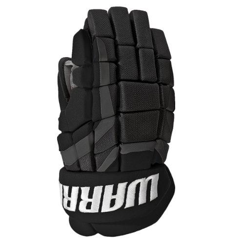 Warrior Senior Covert DT3 Hockey Gloves, Black, 14-Inch