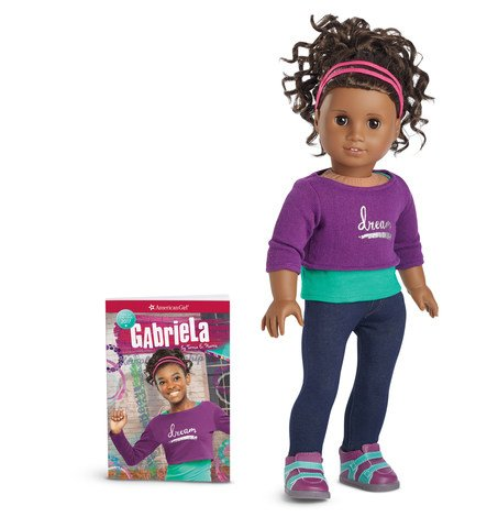 American Girl - Gabriela McBride - Gabriela Doll & Book - American Girl of 2017