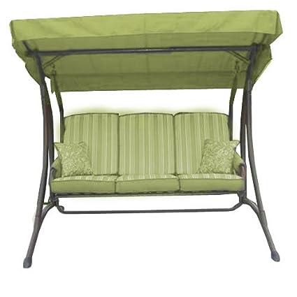 Amazon Com Garden Winds Claremont Ii Swing Replacement Canopy Top