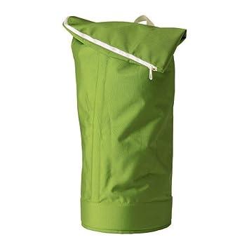 IKEA HUMLARE Recycling-Rucksack in grün; für drinnen und draußen ...