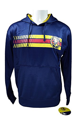 leece Jacket Sweatshirt Official License Soccer Hoodie Medium 019 (Embroidered Soccer Sweatshirt)