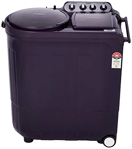Whirlpool 8 Kg 5 Star Semi-Automatic Top Loading Washing Machine (ACE 8.0 TURBO DRY, Purple Dazzle)