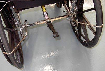 Safe-T Mate Wheelchair Anti Rollback Device(Size=Standard) by 210 Innovations