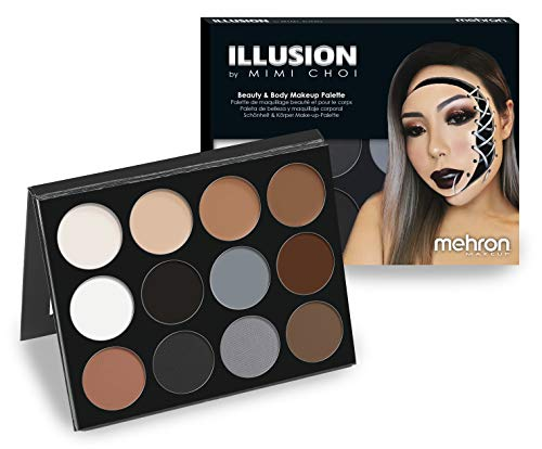 Mehron Makeup Exclusive Mimi Choi Illusion Makeup 12-Color Palette