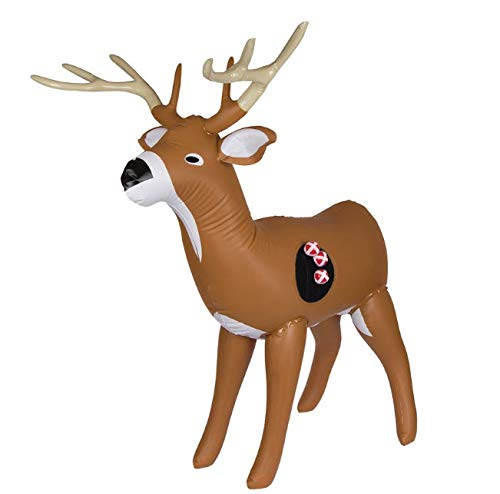 Shopefied Big Buck Inflatable 3 Feet Tall Target Toss Games for Indoor Outdoor Game Birthday Party Supplies Boys Girls Kids Teens Adults (Birthday Party Games For 4 Year Olds Indoors)