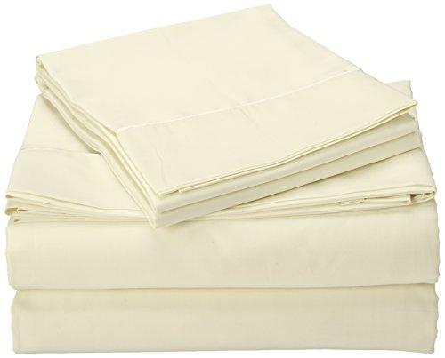 TEMPUR-Pima Cotton Egg Shell Sheet Set, King (Tempurpedic Sheets King)