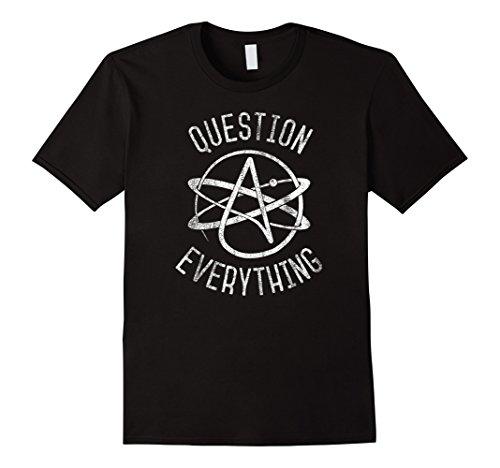 Atheist, Anti Religion T-Shirt: Atheist Atom, Atheist ()