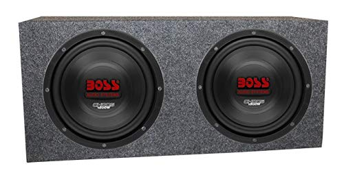 3000W Car Subwoofers Subs Woofers 4 Ohm+Sealed Box Enclosure ()