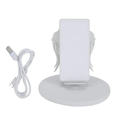 Qiilu Soporte para cargador de teléfono inalámbrico, USB ...